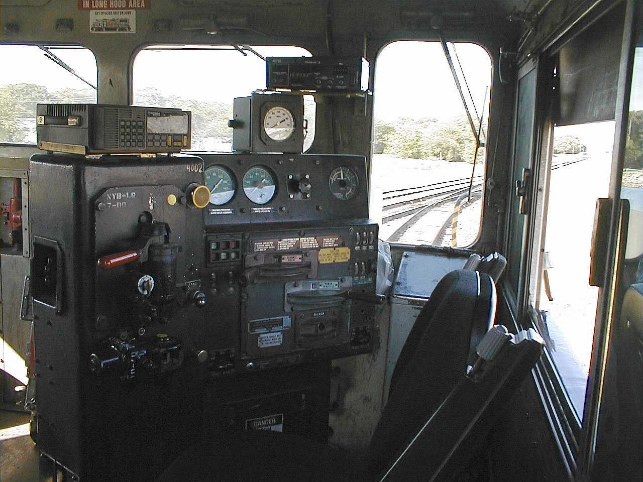 GP38-2  Cab